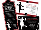 Roaring 20 S Party Invitations Paper Perfection Roaring Twenties 1920s Party