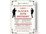 Roaring 20 S Party Invitations Roaring 20s Invitation Printable 1920s Invitations