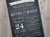 Roast and toast Birthday Invitation Roast and toast Chalkboard Couples Shower Invitation Diy