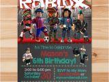 Roblox Birthday Invitation Template Roblox Birthday Invite Chalkboard Roblox Invitation