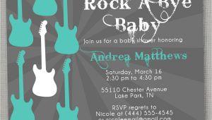 Rock A bye Baby Shower Invitations Rock A bye Baby Shower Invitation by Greysquare On Etsy