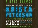 Rock N Roll Baby Shower Invitations 57 Best Rock & Roll Baby Shower Ideas Images On Pinterest