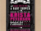 Rock N Roll Baby Shower Invitations Rock N Roll Baby Shower Invitation I Customize by