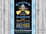 Rock N Roll Baby Shower Invitations Rock N Roll Baby Shower Invitation Utopia Printables