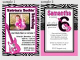 Rock Star Birthday Invitation Templates 40th Birthday Ideas Free Rock Star Birthday Invitation