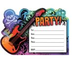Rock Star Birthday Invitation Templates Creative Rock Star Birthday Party Home Party theme Ideas