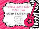 Rock Star Birthday Invitation Templates Rockstar Invitation Rockstar Party Rockstar Birthday