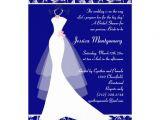 Royal Blue Bridal Shower Invitations Bridal Shower Invitations Bridal Shower Invitations Royal
