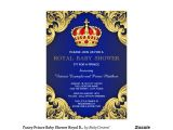 Royal Prince Baby Shower Invitations Fancy Prince Baby Shower Royal Blue 6 5×8 75 Paper