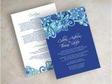 Royal Wedding Invitation Template Free Items Similar to Paisley Wedding Invitation Paisley