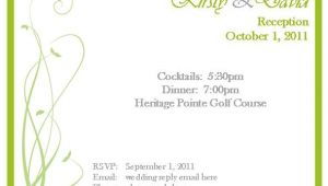 Rsvp for Birthday Party Invitation Sample Rsvp Invitation Template Best Template Collection