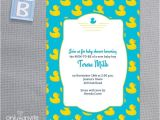 Rubber Ducky Baby Shower Invitations Template Free 7 Best Of Rubber Ducky Printable Template Free