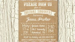 Rustic Bridal Shower Invitations with Matching Recipe Cards Rustic Wedding Bridal Shower Invitation and Matching