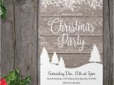 Rustic Party Invitation Template 36 Christmas Party Invitation Templates Psd Ai Word