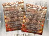 Rustic Party Invitation Template Rustic Birthday Invitations Rustic Fall Invites Mason Jar with