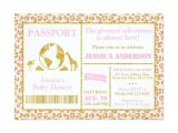 Safari Passport Baby Shower Invitations 12 Best Safari Baby Shower Images On Pinterest