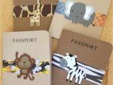 Safari Passport Baby Shower Invitations Passport Invitation Cards
