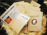 Safari Passport Baby Shower Invitations sophisticated Safari Baby Shower Folded Passport by