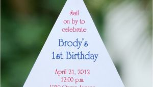 Sailboat Invitations Birthday Party 1000 Images About Sailboat Party On Pinterest Sailboat