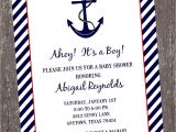 Sailor Baby Shower Invitations Template Nautical Baby Shower Invitations Templates