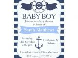 Sailor Baby Shower Invitations Template Nautical Baby Shower Invites