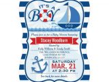 Sailor Baby Shower Invitations Template Nautical theme Baby Shower Invitations – Gangcraft