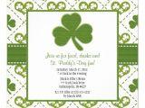 Saint Patrick S Day Party Invitations St Patrick 39 S Day Party Invitations 5 25 Quot Square