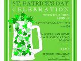Saint Patrick S Day Party Invitations St Patricks Day Celebration Party Invitation 5 25 Quot Square