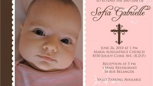 Sample Baptismal Invitation for Baby Girl Baptism Invitations for Girl Baptism Invitation Template
