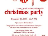 Sample Holiday Party Invitation Letter Christmas Party Invitation Letter Fun for Christmas