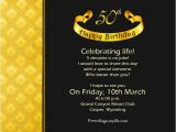 Sample Invitation for 50th Birthday Party 50th Birthday Invitation Wording Samples Wordings and