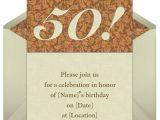 Sample Invitation for 50th Birthday Party 50th Birthday Invitations Wording Samples