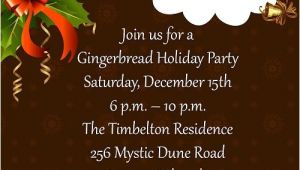 Sample Invitation for A Christmas Party Christmas Party Invitations and Christmas Party Invitation