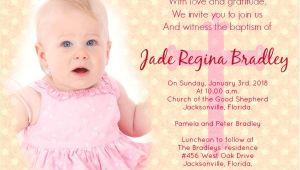 Sample Invitation for Baptism Baptism Invitation Wording Samples Wordings and Messages