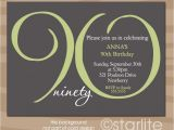 Sample Invitations for 90th Birthday Party 15 90th Birthday Invitations Tips Sample Templates
