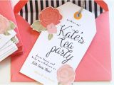 Sample Invitations to A Tea Party 11 Tea Party Invitation Templates to Download Sample