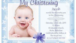 Samples Of Baptismal Invitation Cards Baptism Invitation Baptism Invitations for Boys New