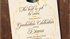 Samples Of Graduation Invitation Cards 76 Invitation Card Example Free Sample Example format