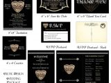 Save the Date and Wedding Invitation Packages Celtic Wedding Printable Package Invitation Save the