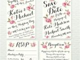 Save the Date and Wedding Invitation Packages Items Similar to Wedding Invitation Package Fully