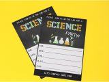 Science Party Invitations Template Free Science Party Printables Birthday Parties