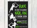 Scooter Party Invites Free Scooter Party Personalized Birthday Invitation Digital