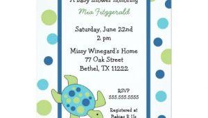 Sea Turtle Baby Shower Invitations Sea Turtle Baby Shower Invitation Boy or Girl
