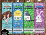 Secret Life Of Pets Party Invitations Novel Concept Designs Secret Life Of Pets Movie Ticket