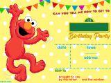 Sesame Street 1st Birthday Invitation Template Sesame Street Birthday Invitations Online Free