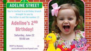 Sesame Street 2nd Birthday Invitation Wording Sesame Street Birthday Party Ideas Games Food