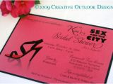 Sex In the City Bridal Shower Invitations Creative Outlook Designs In the City Bridal Shower