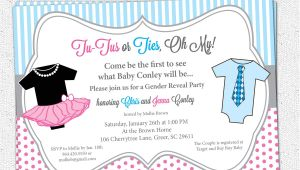 Sex Reveal Party Invitations Gender Reveal Party Invitations Template Best Template