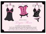 Sexy Bridal Shower Invitations Naughty Nightie Shower Invitations Paperstyle
