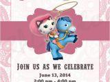 Sheriff Callie Party Invitations Birthday Party Invitations Birthdays and 3rd Birthday On
